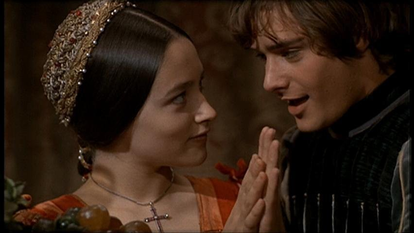 The farewell of romeo and juliet