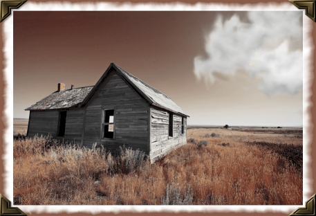 enter this deserted house meaning